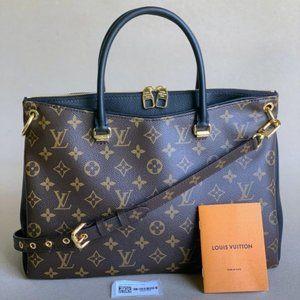 New Model Louis Vuitton Pallas Noir Monogram Bag